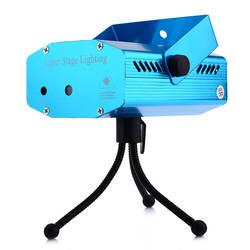 Малый голос Автоматическая Управление красный зеленый лазер пейзаж проектор свет для вечерние КТВ бар этап эффект освещения с штатив