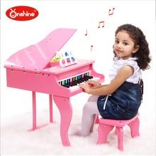 30 font b keyboards b font Beautiful font b Music b font Toy Baby Toy Wooden