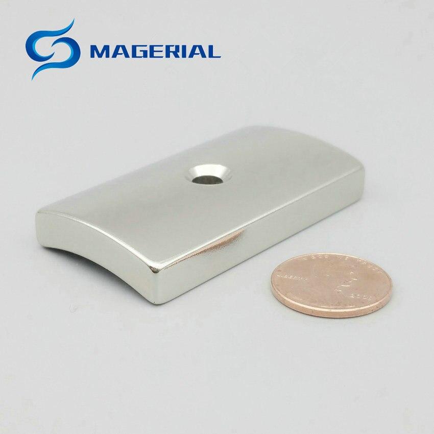 2 120pc N42 NdFeB Arc Segment OD96xID82xWidth30xLength55 mm Servo Moto magnet for generators wind turbine Neodymium