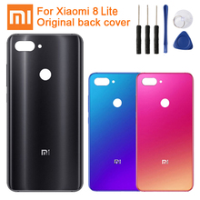 Xiao Mi Xiaomi Original Glass Battery Rear Case For 8 Lite MI8 Back Cover Backshell Cover+ Tool