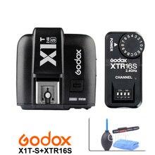 Godox X1T-S TTL 2.4G Sans Fil Trigger pour Sony + XTR-16S Flash Récepteur pour Godox V850/V860C/V850II V860IIC/F V860N V850II flash