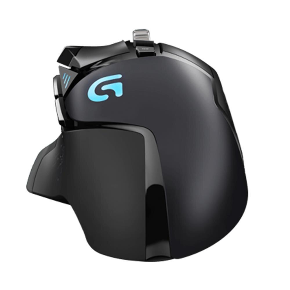 Logitech G502 100% Оригинальная английская упаковка RGB светодиодный Proteus Spectrum настраиваемая Лазерная игровая мышь USB Проводная 12000 dpi геймерская мышь - 4