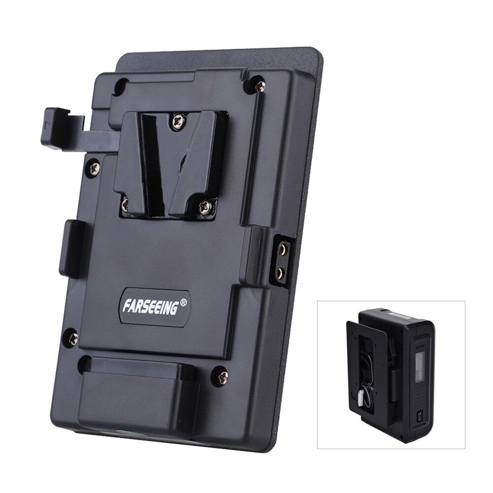 Farseeing FK-V конвертер аккумулятор пластины в тип монтажная пластина для видеокамера