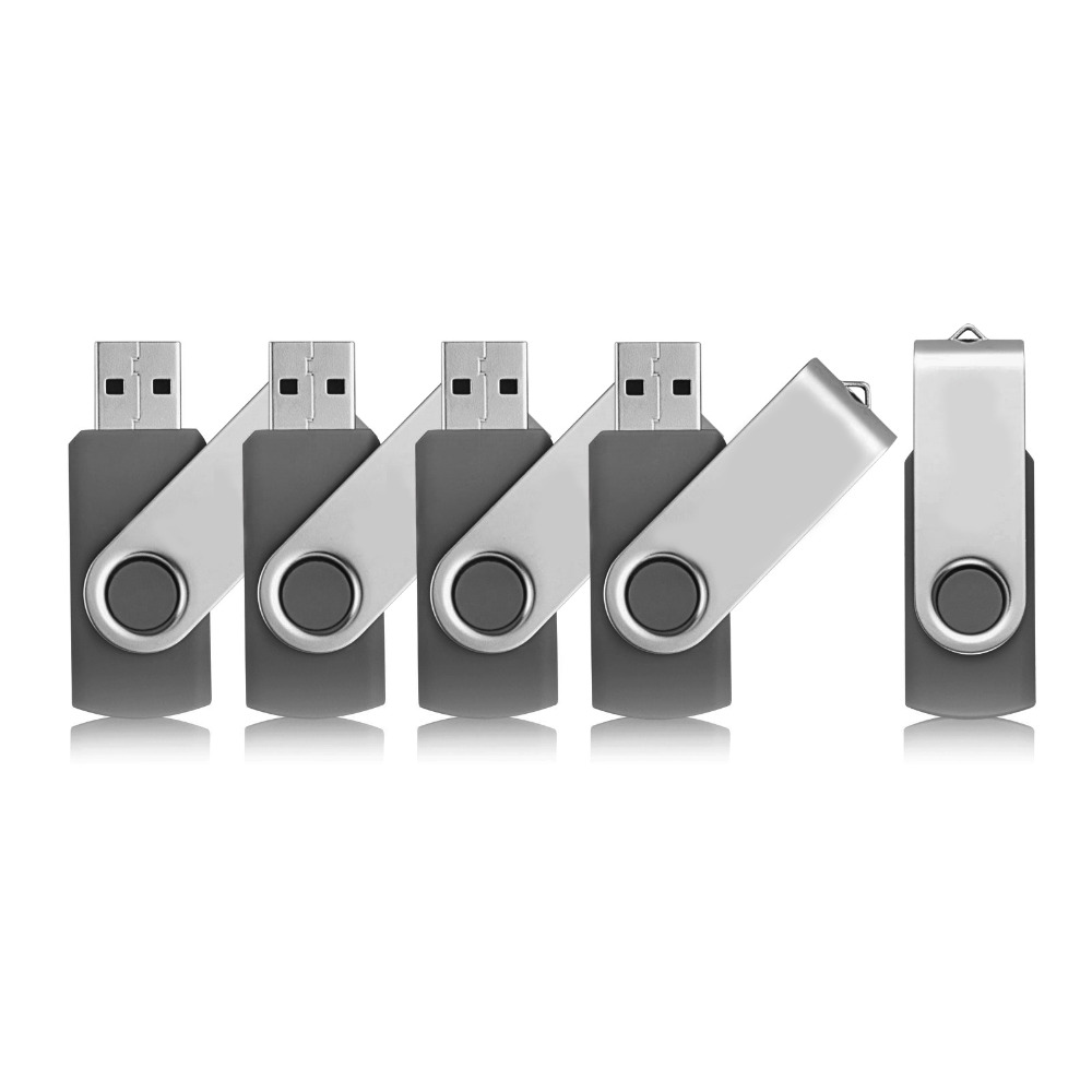 5 Colors 1GB-16GB Metal Key USB Flash Drives Flash Memory Sticks Thumb Pen Drive