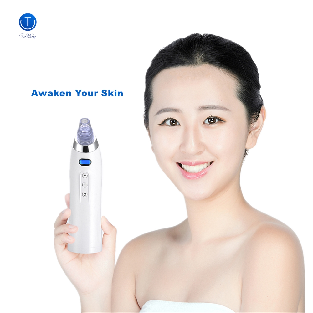 Купить с кэшбэком Tinwong Blackhead Remover Skin Care Face Deep Pore Vacuum Acne Pimple Removal Tool