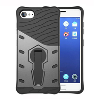For Lenovo ZUK Z2 Case ZUKZ2 Cover 5.0 inch High Quality PC and TPU Hybrid Armor Back Cover 360 Rotating Kickstand Phone Cases