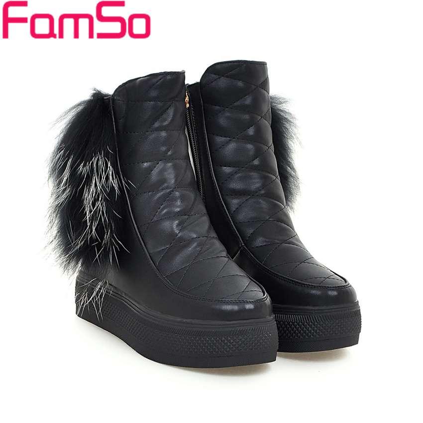 Plus Size 34 43 2016 new Sexy font b Women b font Boots Short White Riding