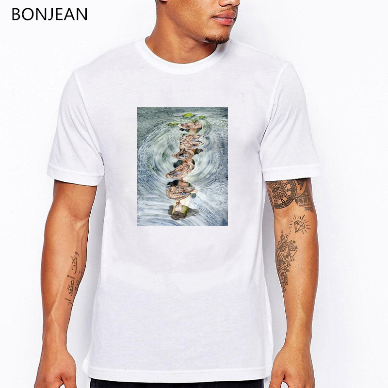 Black cat painting tshirt men 90s aesthetic art clothes funny t shirts camisetas hombre harajuku shirt men t shirt streetwear in T Shirts from Men 39 s Clothing