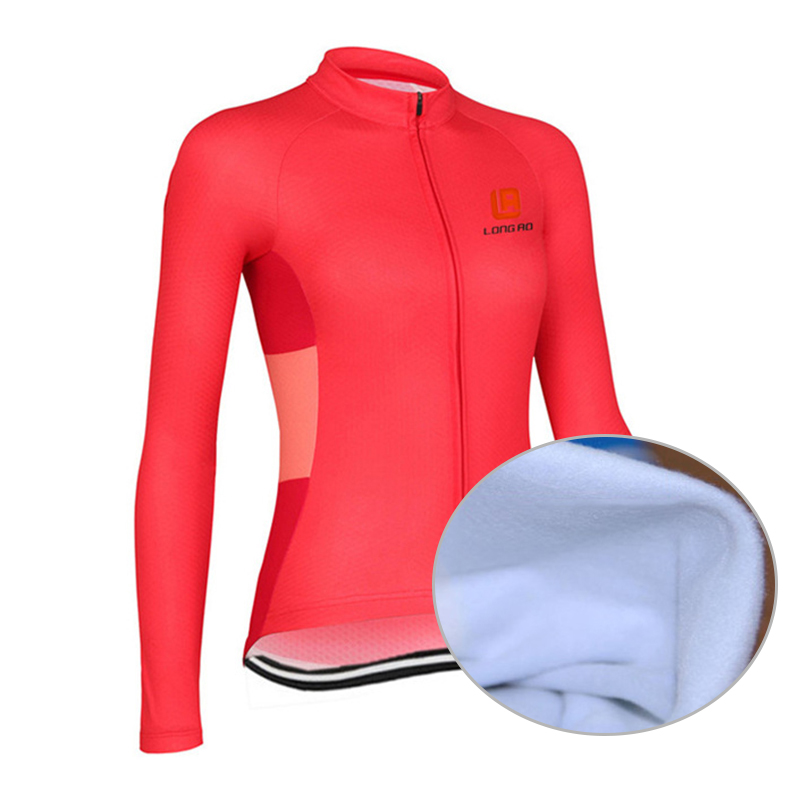 Moterys, žiemos dviračių sportinės aprangos drabužiai, šiltos, - Dviratis