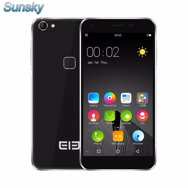 Original Elephone S1 5.0inch Android 5.1 Smartphone 3G 1GB RAM 8GB ROM MTK6580 Quad Core 1.3GHz 8.0MP TOUCH ID Mobile Phone