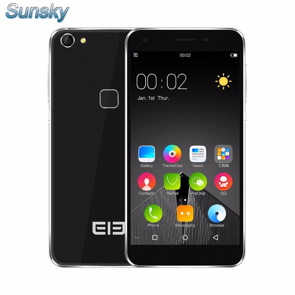 bilder für Ursprüngliche Elefon S1 5,0 zoll Android 5.1 Smartphone 3G 1 GB RAM 8 GB ROM MTK6580 Quad Core 1,3 GHz 8.0MP TOUCH ID Mobile telefon