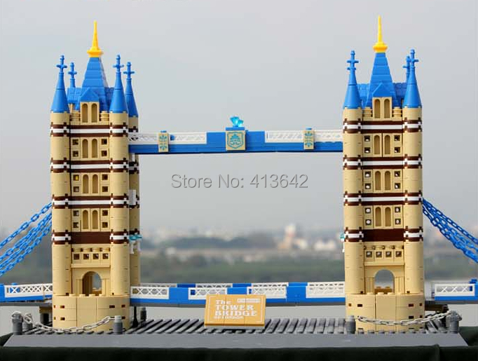 WANGE DIY The Tower Bridge Of London,Children's Educational Construction Toy Block Bricks 8013, 1033 pcs/set, Free Shipping ndefo okigbo the mechanics of construction soil