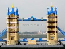 WANGE DIY The Tower Bridge Of London,Children's Educational Construction Toy Block Bricks 8013, 1033 pcs/set, Free Shipping
