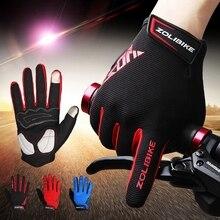 Полный пальцев велосипедные перчатки для Для мужчин противоскользящие 3D мягкий про дороги MTB перчатки Guantes дышащие Велоспорт велосипед перчатки Для мужчин