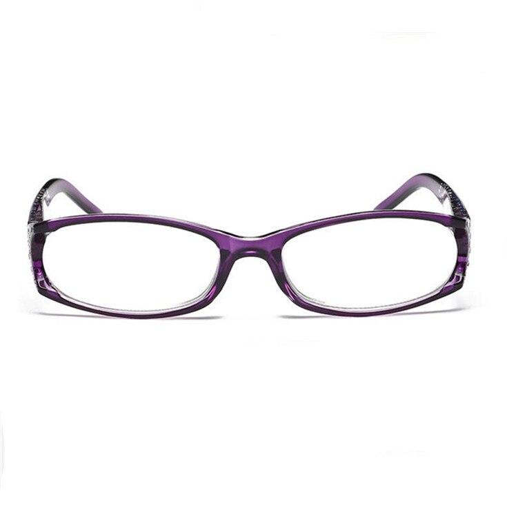 c30b69c13f Gafas de lectura presbiópicas ultradelgadas flexibles para mujer gafas de lectura  sin marco + 1 +