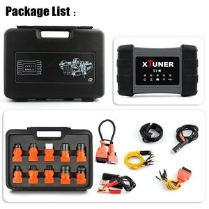 Image 5 - Xtuner T1 Heavy Duty Truck Diagnostic Tool SRS ABS DPF EGR Reset For VOLVO MAN IVECO Truck Scan Tool Xtuner Diesel OBD2 Scanner