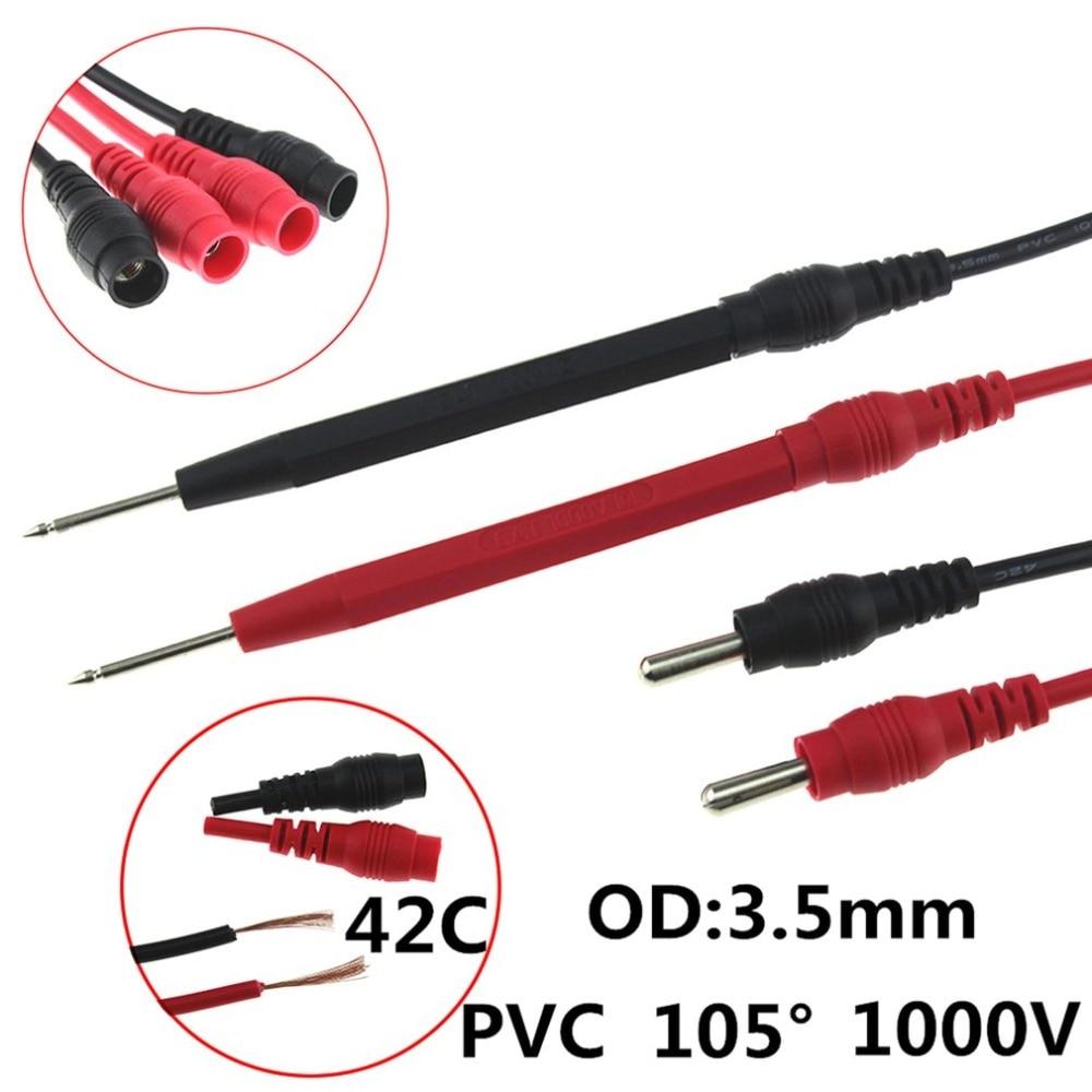 Professionale Multimetro Digitale AN8004 Display LCD Multimetro Digitale 2000 Conta AC/DC Amperometro Voltmetro di Ohm del Tester del Tester