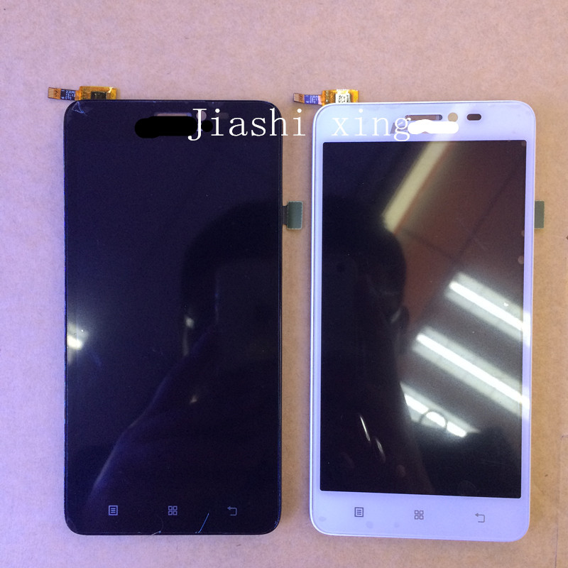 S850 LCD Display+Touch Screen Panel With Frame Digitizer Accessories For Lenovo S850t 5.0 Smartphone Free shipping+Track Number