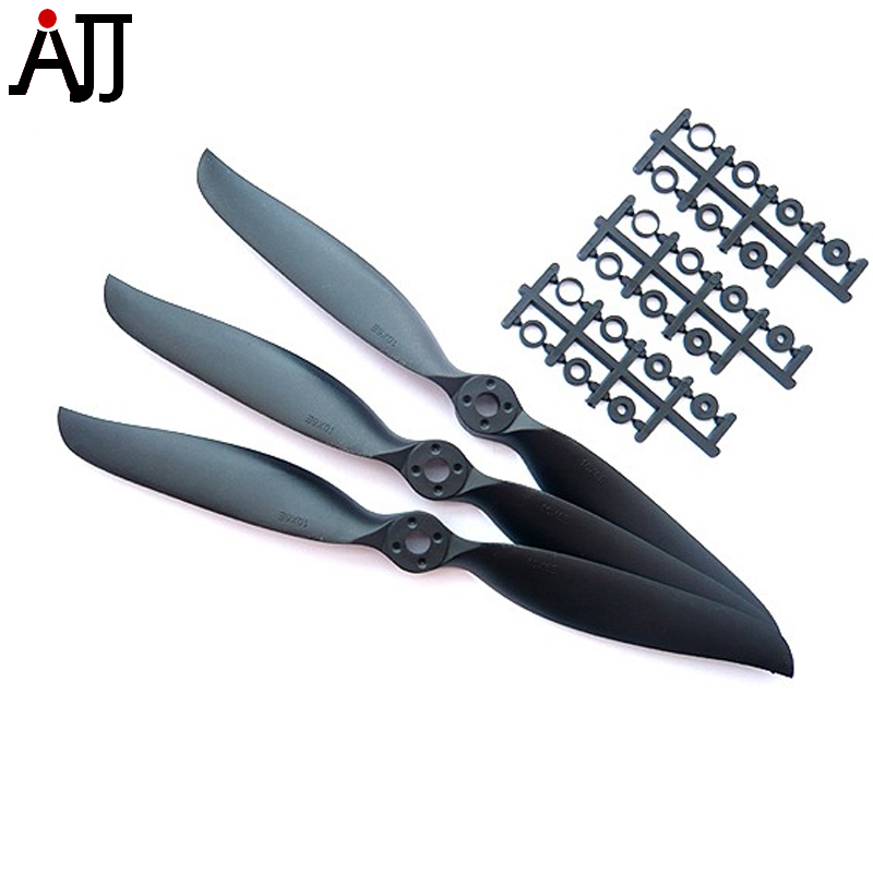 3PCS RCTIMER 12x8 Sport Propeller 1280 Precision Props w/ Motor Shaft for RC Airplane Quadcopter Multirotor Replacement Pro