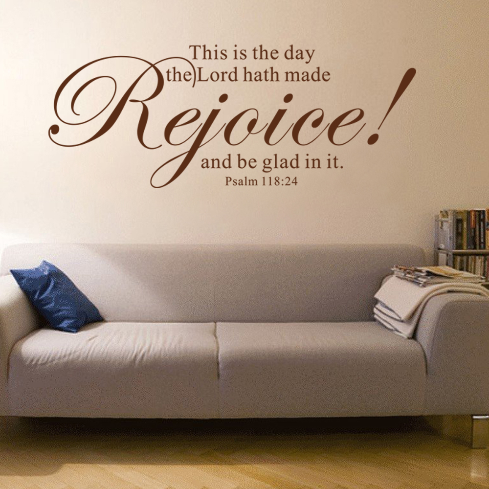 Psalms wall decals christian wall decals ine walls - Religious Wall Decal Christian Decal Psalm 118 24 This Is The Day The Lord Hath