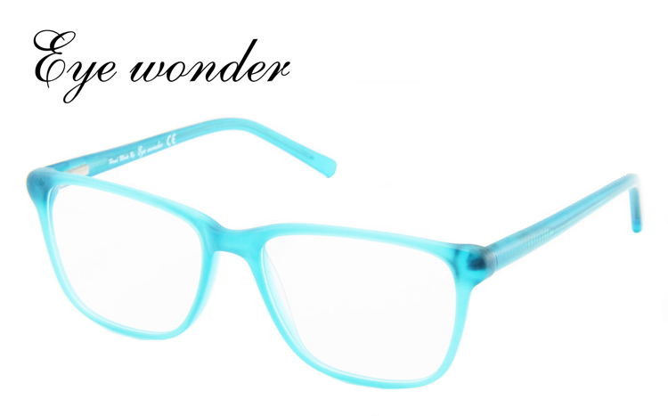 c330a477aa Eye Wonder Yoptical Fashion Women Designer Large Square Demi Blue ...