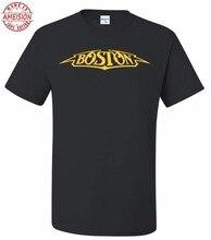 New Round Neck Best Selling Male Natural Cotton Shirt Printed Tee Shirt Short Sleeve Men;s Boston Custom T-Shirt Print Top Tees все цены