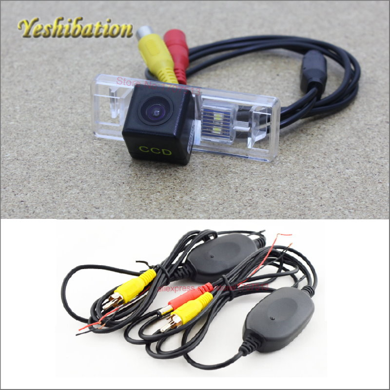 Yeshibation Wireless Camera RCA/AUX Video Transmitter and Receiver Kit For Citroen ZX 1991~1998 Reverse Backup Rearview Camera