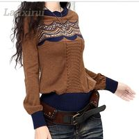 2018 Sweaters For Winter Women Fashion Casual Knitted Female Pullover Feminino Jumpers Clothing Jersey Mujer