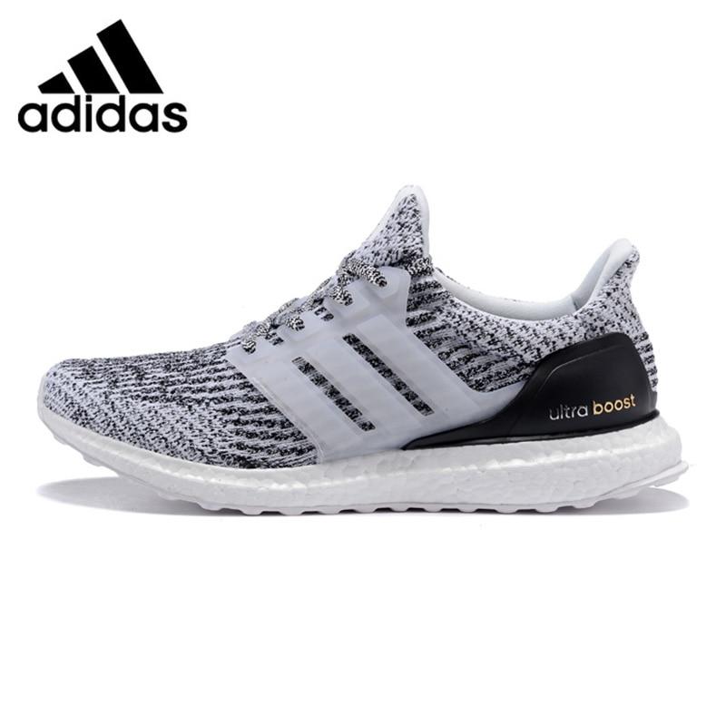 Adidas UltraBOOST Hommes de Chaussures de Course, Gris clair, choc Absorbant Non-Slip Résistant À L'abrasion Respirant S80636