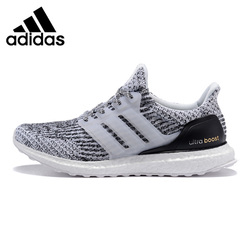 Adidas UltraBOOST Men's Running Shoes ,Light Grey ,Shock Absorbing Non-Slip Abrasion Resistant Breathable S80636
