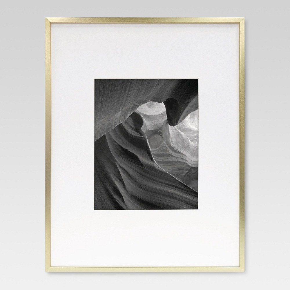 Metallic Picture Frame Photo Wall Frame Aluminum Alloy
