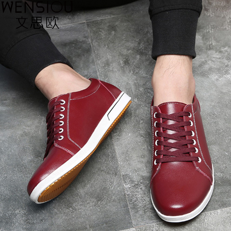 2018 New Men Casual Flat Shoes Men Spring Autumn Lace Up Breathable Loafers Men Fashion Shoes High Quality  Footwear  DET601 upuper 2018 oxfords men spring autumn new british lace up leather male casual shoes fashion mocassins breathable men s flats