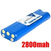 High quility 14.8V 2800mAh 18650 Li ion Battery for Philips Robotics Vacuum cleaner FC8820 FC8810 Vacuum cleaner