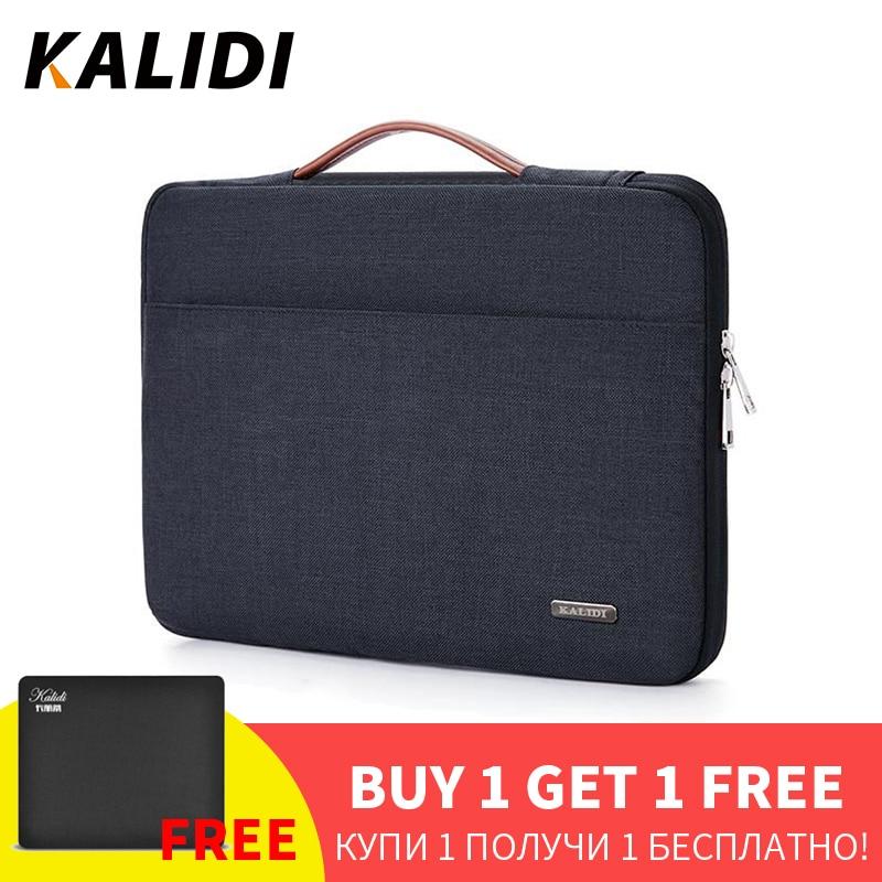 KALIDI 11 12 13 14 Inch Laptop Bag Waterproof For Men Women Laptop Sleeve Case 13.3 15.6 Inch Computer Notebook Macbook Bag 15(China)