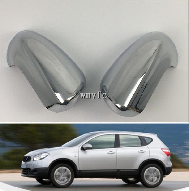 ABS Chrome Rearview Side Door Mirrors Wing Mirror Cover For Volvo XC6 2014-2017