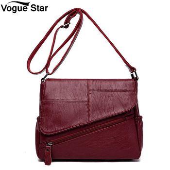 c6eab69b99e0 Для женщин сумки дизайнер 2019 Sac основной Дамы Сумка новые летние женские  Курьерские сумки Feminina роскошные кожаные Сумки M81