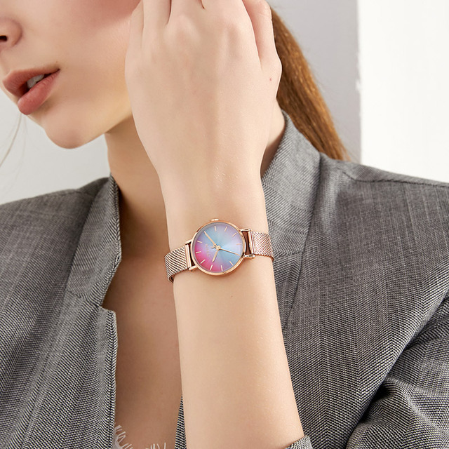 Creative Stainless Steel Watch