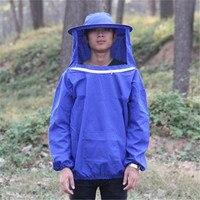 Giá rẻ Nghề Nuôi Ong Jacket và Veil Bee Dress Smock Equip Chuyên Nghiệp Bảo Vệ Bee Suit SỐ 1 nuôi ong thiết b