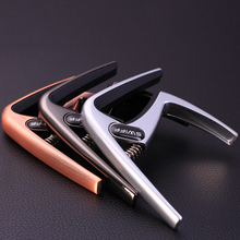 3 Colors Quick Change Clamp K8 Guitar Capo for Tone for Electric Acoustic Guitar
