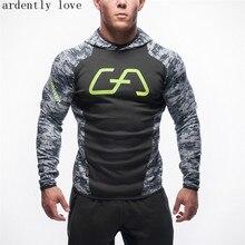 2016 Gyms  Hoodies hombre mantel Bodybuilding und fitness hoodies Sweatshirts Muscle herren sportswear