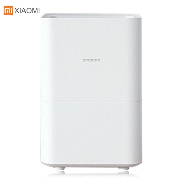 Xiaomi Smartmi Pur Humidificateur D'air Par Évaporation Avec 4L Grande Capacité Réservoir D'eau Automatique D'évaporation Brumisateur de Bureau À La Maison
