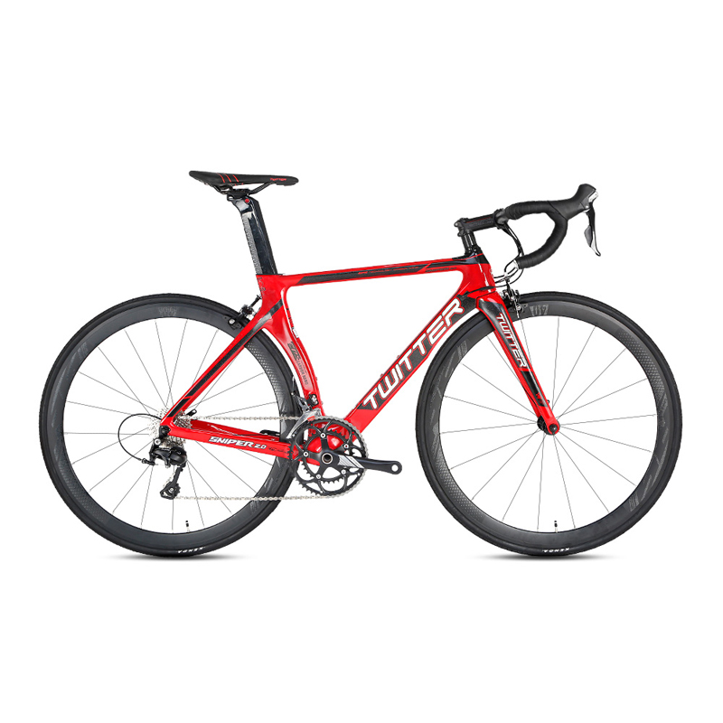 TWITTER Carbon Road Bicycle 16 22Speed Road Bike For R2000 105 5800 R7000 Components High quality TWITTER Carbon Road Bicycle 16/22Speed Road Bike For R2000 105/5800 R7000 Components High quality