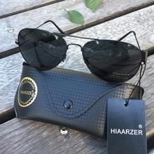 High Quality 58MM Aviador Real Glass Lens Sunglasses Men Women Brand Pilot Driving G15 Sun Glasses Mirror Goggles UV400 Eyewear