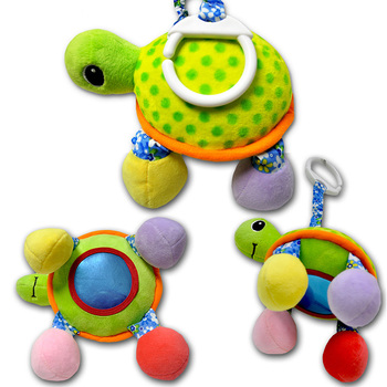 Baby Toy Plush Baby Rattle Toy Children's Walker Trolley Stroller Car Seat Toy Pendant Baby Toys Mirror Toys for Baby 0-12 Month a generation of fat baby stroller toy car stroller walker walker toys for children