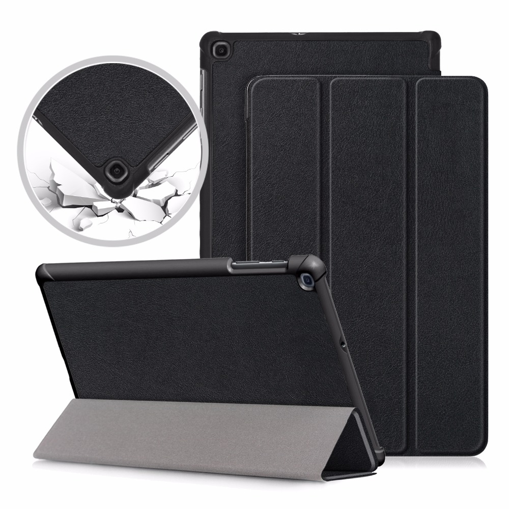 Ultra Slim PU Case For Samsung Galaxy Tab A 10.1 SM-T510 T515 Tablet Cover For Samsung Tab A 10.1 2019 Case