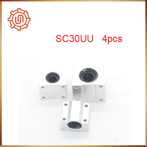 SC30UU SCS30UU linear ball bearing slide unit,linear bearing house,Linear block,CNC,DIY axk sc8uu scs8uu slide unit block bearing steel linear motion ball bearing slide bushing shaft cnc router diy 3d printer parts