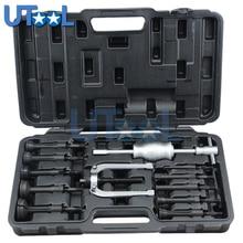 UTOOL 16 pz Foro Cieco Pilota Slide Hammer Interno Cuscinetto Estrattore estrattore Tool Kit