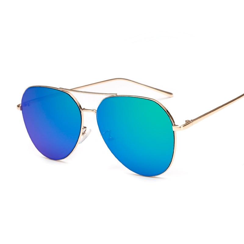 Fashion Flat Lens Mirror font b Sunglasses b font DF718