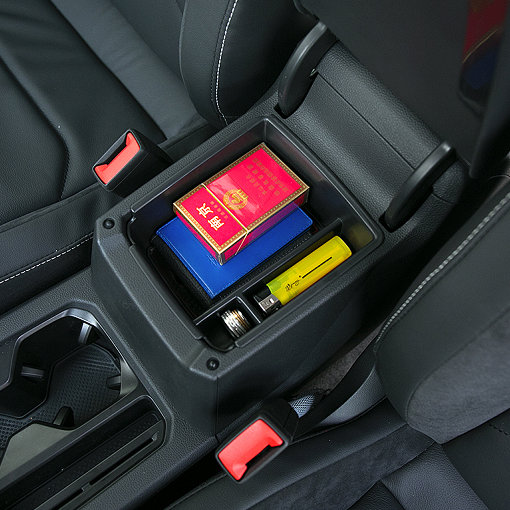 For 2016 2017 2018 Vw Tiguan Mk2 Armrest Center Storage