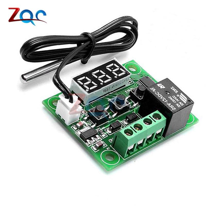 50~110°C W1209 DC12V Digital Thermostat Temperature Control Switch Sensor